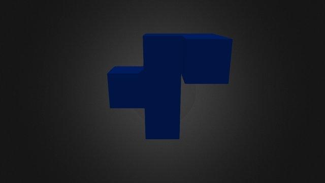 Blue Piece New 3D Model