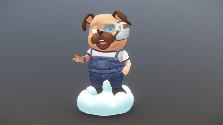 YAHWOO  3D Character 3D Model