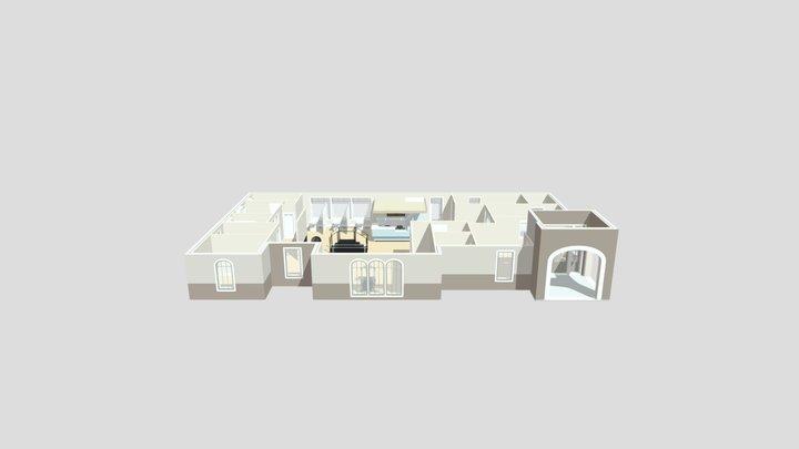 Kumar Option B Floor Plan 3D Model