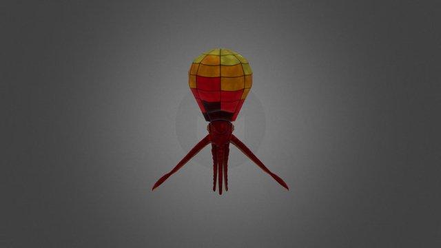 Octopus Balloon 3D Model
