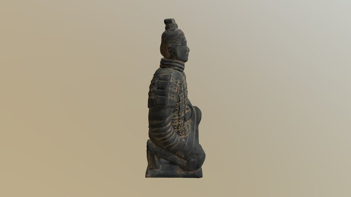 Terracotta Soldier 3D Model