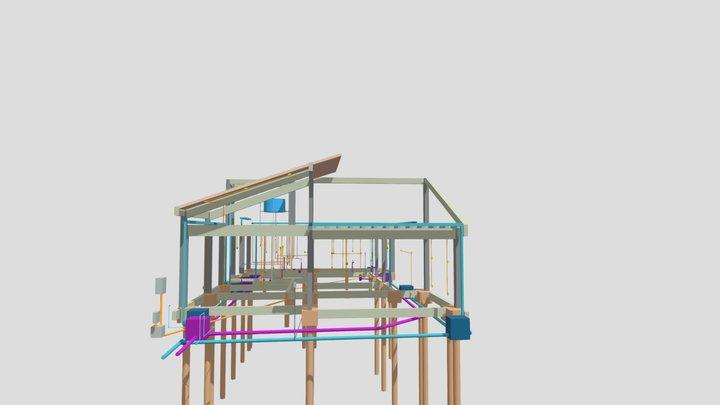 Projeto estrutural e complementares - Diego 3D Model