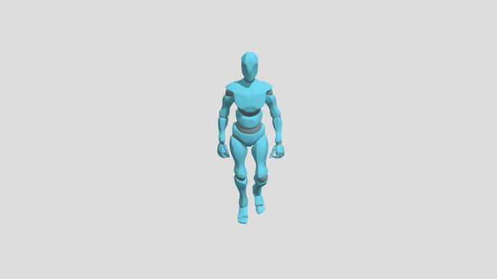 Walking 3D Model