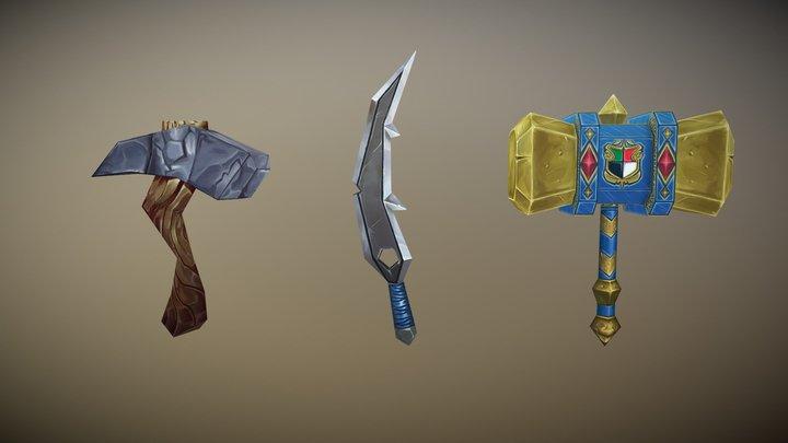 Weapon Practice 3D Model