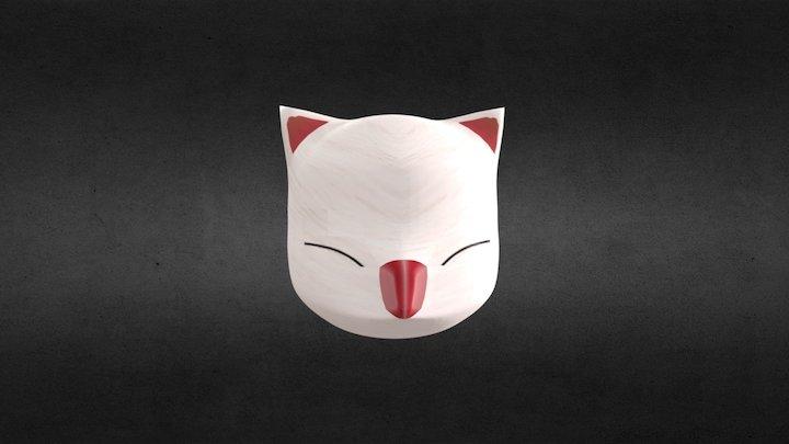 Moogle Head 3D Model