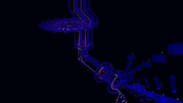 Vr Rotation004B 3D Model