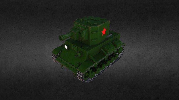 KV-2 3D Model