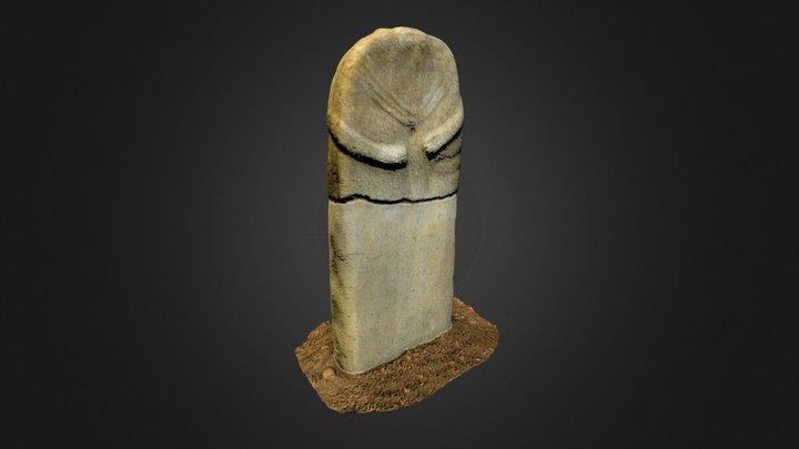 Statue-menhir de la Prade 3D Model