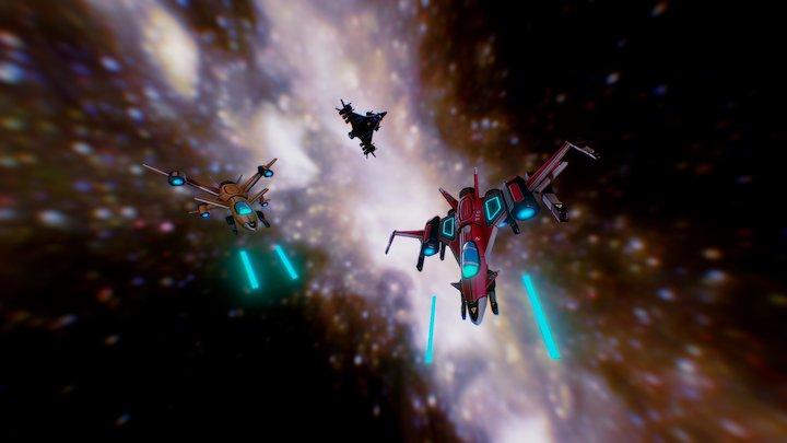 Galaxy Offensive 3D Model