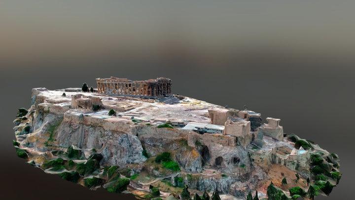 Parthenon - Acropolis, Athens Greece 3D Model