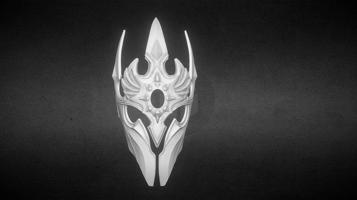 3DMASK Blizzard Crown 20 YEARS 3D Model