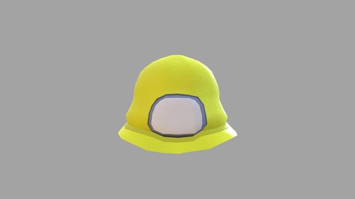 Cave Helmet 3D Model
