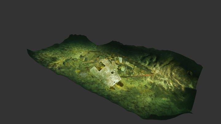 Henderson Point Wreck, December 2018 3D Model