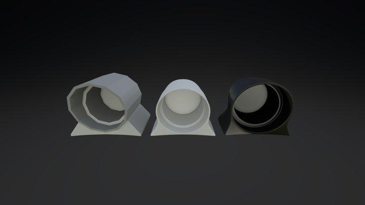 Defi Boost Gauge Pod 3D Model