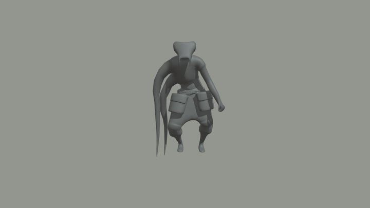 Jerberd Attack 3D Model