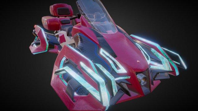 FJR in 2116 3D Model
