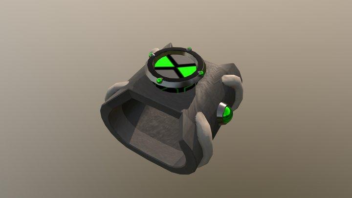 Ben 10 Original Omnitrix 3D Model