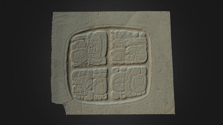 Xunantunich Glyph Panel 1