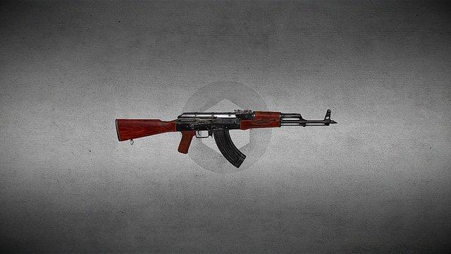 AK - 47 3D Model