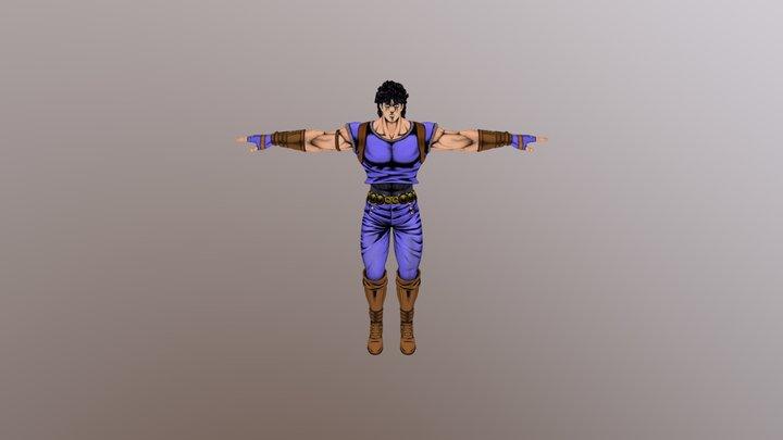 Jonathan Joestar 3D Model