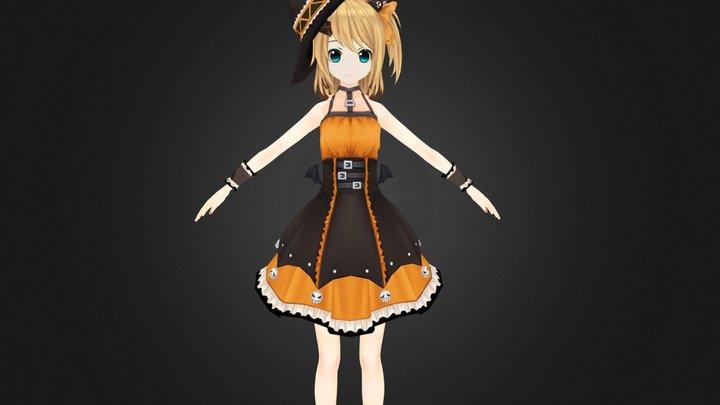 Halloween Akio 3D Model