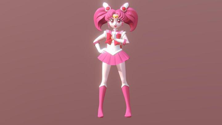 Sailor Chibimoon 3D Model