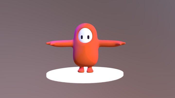 Fall guys 3D Model