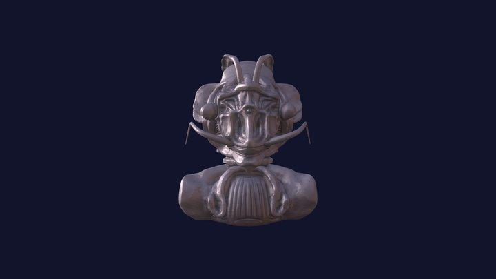 PrawnMan bust 3D Model