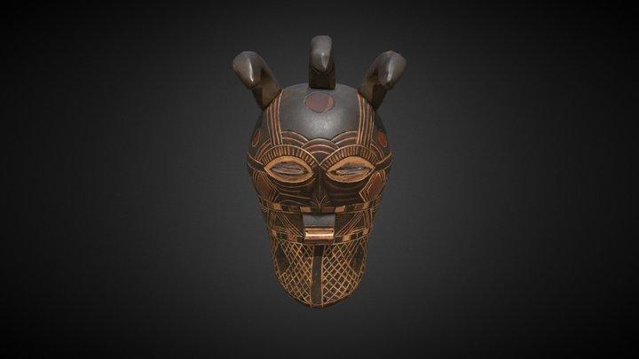 Maska afrykańska 3D Model