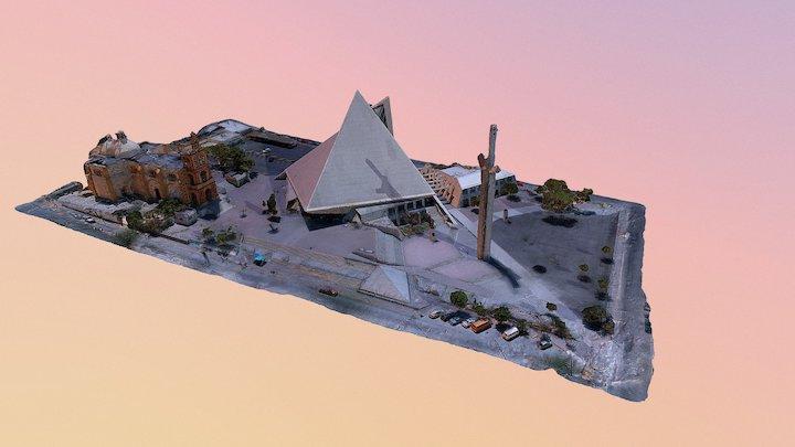 Basílica de Guadalupe 3D Model
