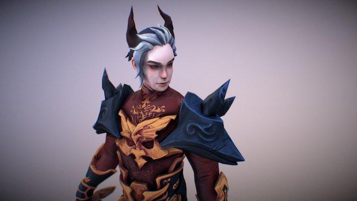 Character - Vampire 3D Model