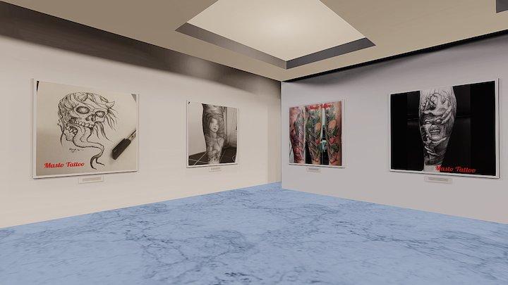 Instamuseum for @mastotattoo 3D Model