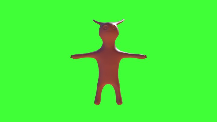 Organic Model Redo 3D Model