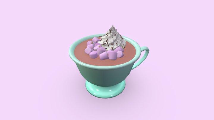 Creamy Tales on Marshmallow Island 3D Model