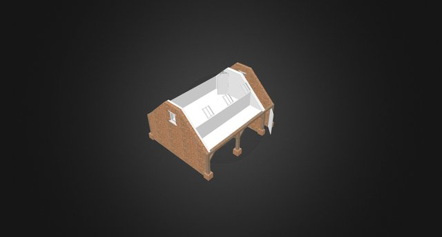 13 Tormarton Road Garage - no roof 3D Model