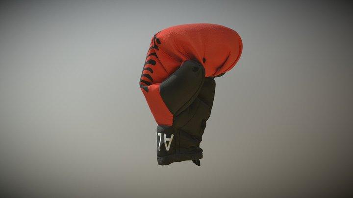 Albanian Boxing Glove 600k 3D Model