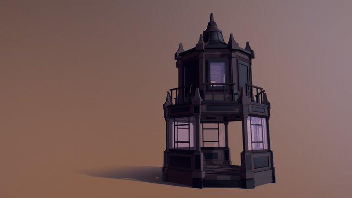 Arbour ( Low Poly) 3D Model