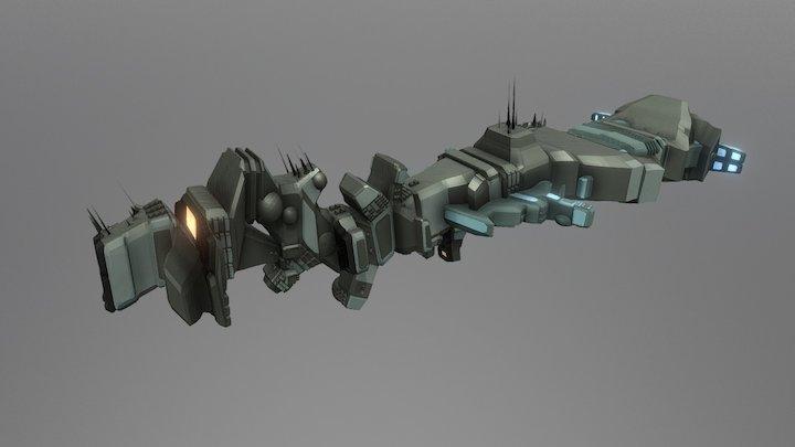 Space Gen1 3D Model