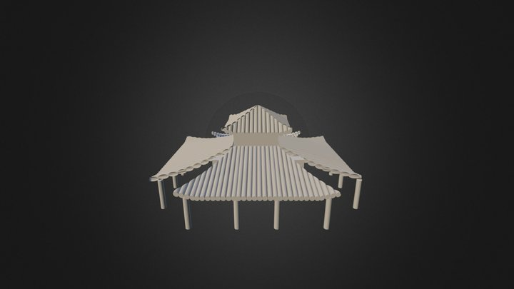 Casa Maya 3 3D Model