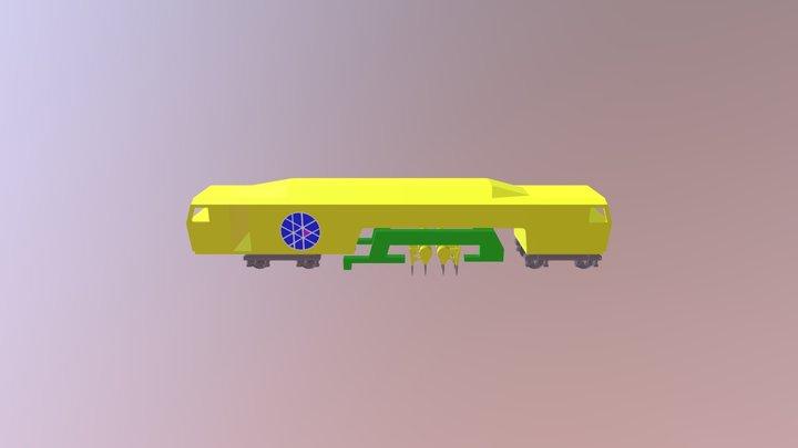 Stopfmaschine 3D Model