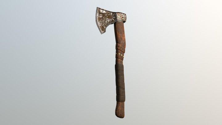 Viking Axe Test Volt2 3D Model