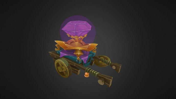 Crystal Cart 3D Model