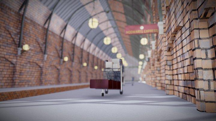 Platform 9 3/4 3D Model