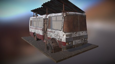 Gypsy Bus House 3D Model
