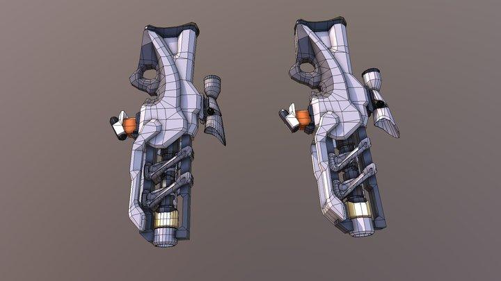 Prototype 03 Hugh Poly 3D Model