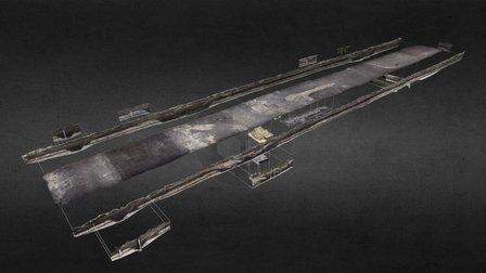 Boudelo excavation (2012) - WORK IN PROGRESS 3D Model