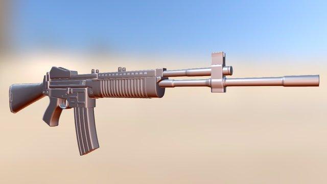 Stoner63 3D Model