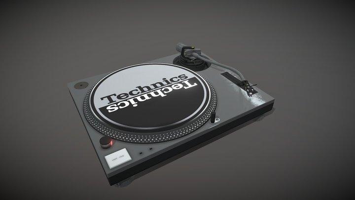 Technics MK2 Turntable 3D Model