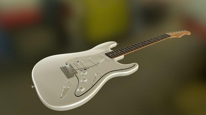 Guitare Electrique Fender 3D Model
