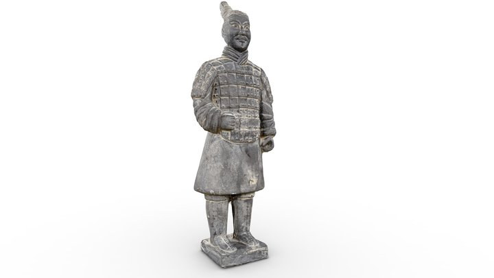 Chinese terracotta Soldier (replica) 3D Model